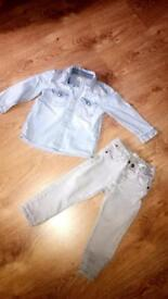 18-24 month denim shirt and jeans
