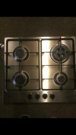 Neff Silver Gas Hob New and Unused