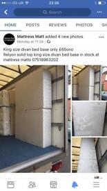 King size bed base only £65ono