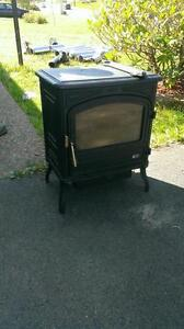 free standing oil stove