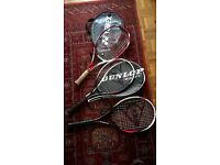Tennis Rackets for family for sale (Very nice 25 inch Yonex)