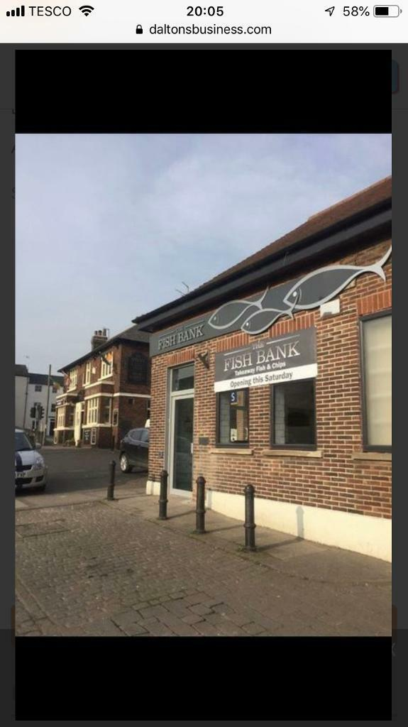 430ad338409162 Fish   Chip Shop For Sale   under offer