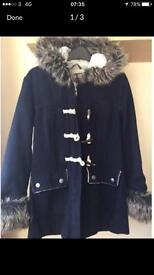 Ladies Winter coat from bank fashion