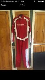Audi racing suit