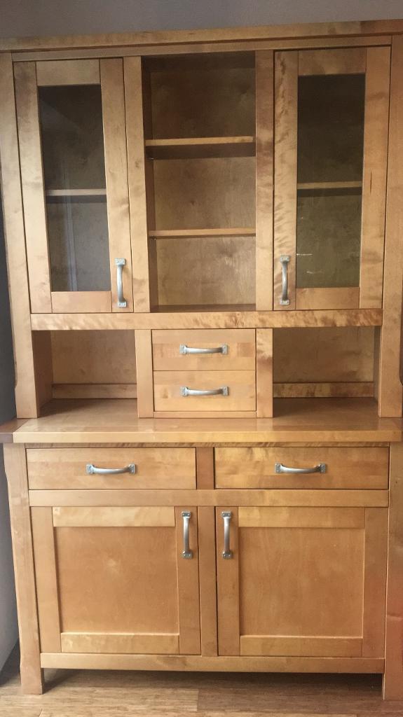 Welsh Dresser Display Cabinet