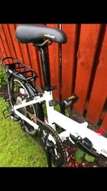 Carrera Transport folding bike for sale