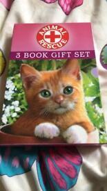 Animal Rescue 3 book gift set by Tina Nolan