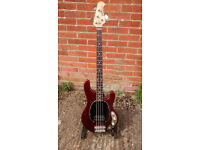 Music Man StingRay 4 String 2EQ Bass