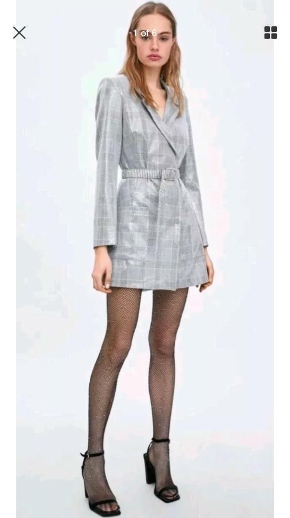 ea4b34a6a7b BNWT Zara sequin blazer