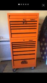 Mac tool box and roll cab