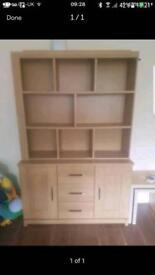 Oak cabinet lovely in ur living room