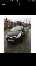 Vauxhall corsa 1.3 very low miles cheep to run and insure