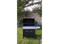 6 Burner Gas Barbecue BBQ with side burner