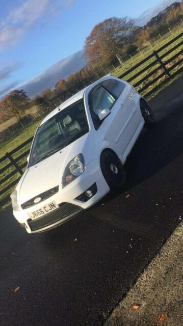 Ford Fiesta st white clean car call for more details | in Hamilton, South  Lanarkshire | Gumtree