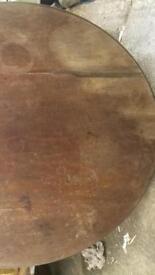 antique Solid Mahogany Table top
