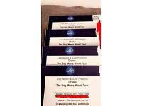 Drake Standing tickets 4th Feb O2 Standing x 4 tickets