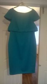 FOR SALE, Ladies COLEENx jade green occasion dress, size,14