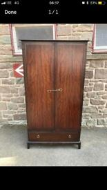 2 AVAILABLE stag minstrel wardrobes with drawer * free furniture delivery *