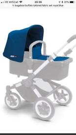 Bugaboo Buffalo Tailored Fabric Set, Royal blue