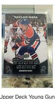 Taylor hall upper deck young guns rookie card