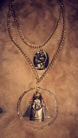 GoldEgyptian Double Layer Necklace