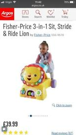 Fisher price three in one