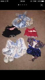 Build a Bear bundle of clothes (Cinderella dress)