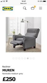 Recliner Arm Chair - Perfect Condition