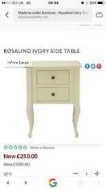 Laura Ashley bed side table