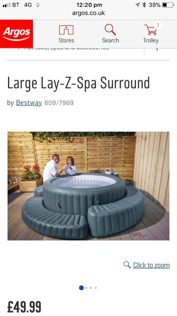 Brand new hot tub surround