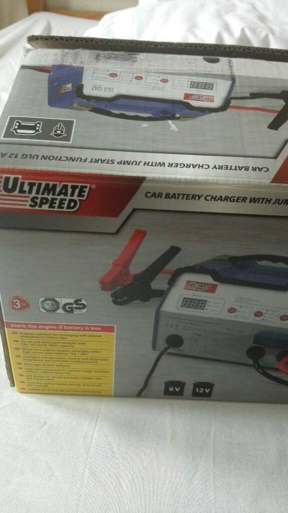 ULTIMATE SPEED car battery charger with jump start function ulg 12 a2