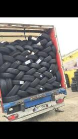 Part worn wholesaler and retailer summer and winter tyres available