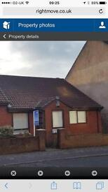 3 bedroom bungalow with garage hetton Le hole