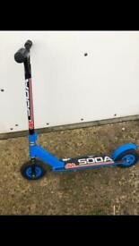 Kids off-road dirt scooter