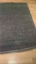 New grey rug size is 5 ft 3 ins x 3 ft £12