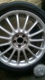 Alloy wheels for Rover 75 or MG ZT.