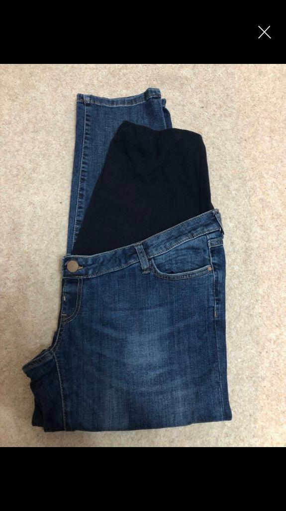59efd1da926eb Brand new maternity jeans from mothercare size 16 | in Bishop ...