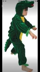 Crocodile fancy dress up costume age 3-4