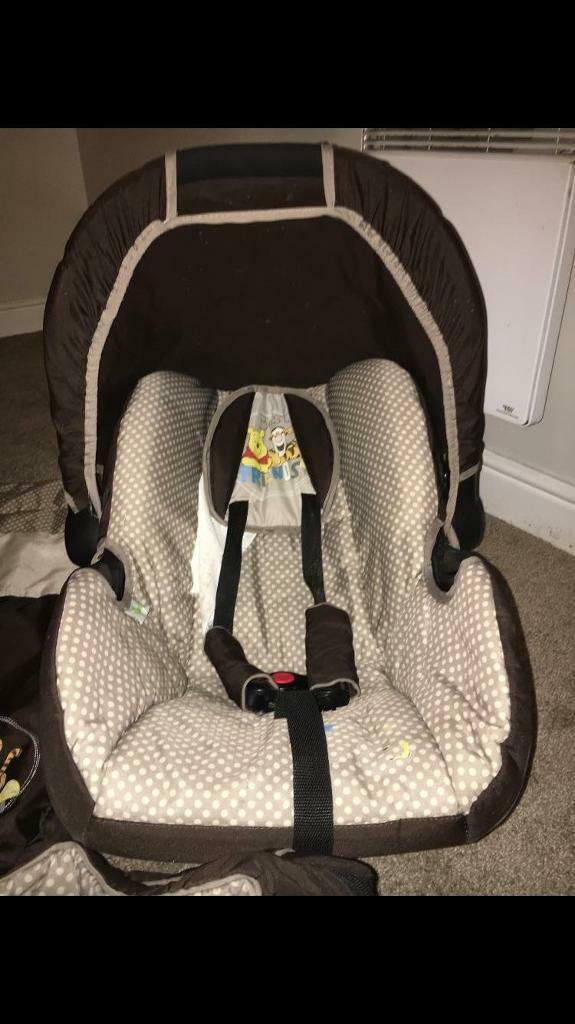 Winnie The Pooh Car Seat And Accessories