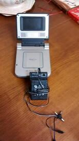 portable dvd player proline with a/c d/c adaptor