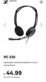 Sennheiser pc230 headphones
