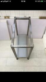 Parry 2 burner hob STAND. Catering stand. Catering table