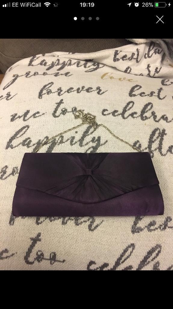 Laura Ashley clutch bag