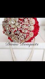 Wedding Bouquet, Artificial Flowers