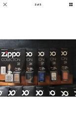 Genuine zippo lights