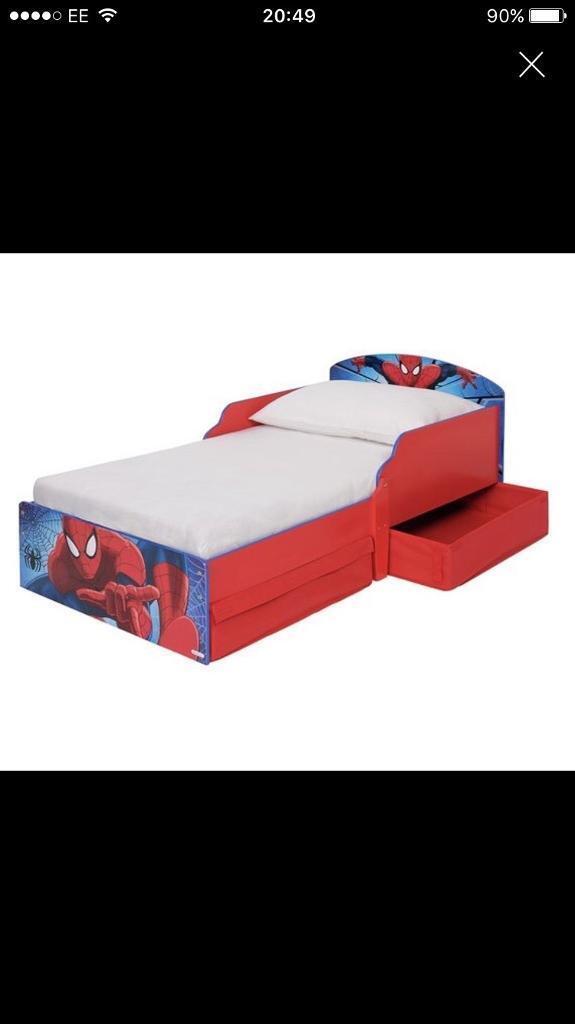 Spider man junior bed