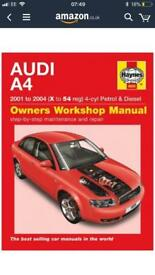 Audi A4 Haynes Manual