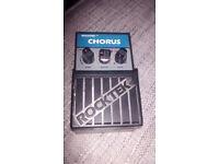 Rocktec Vintage Chorus Pedal