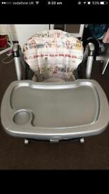 High chair good condition Mamas & Papas