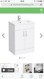 Sink and Vanity Unit (Brand new)